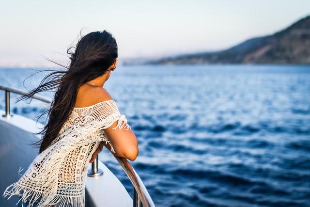 Kauniit maisemat laivan kannelta käsin.